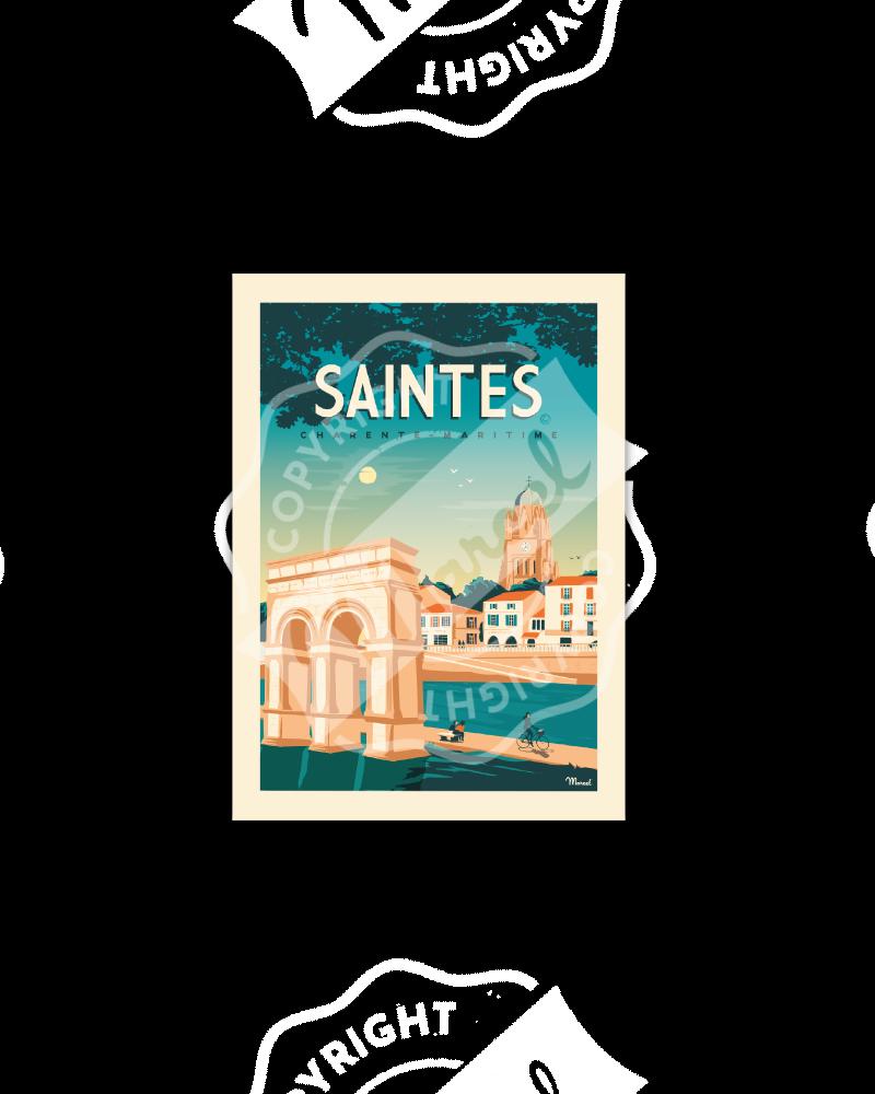 Postcard SAINTES
