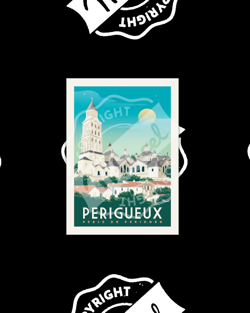 Postcard  PERIGUEUX
