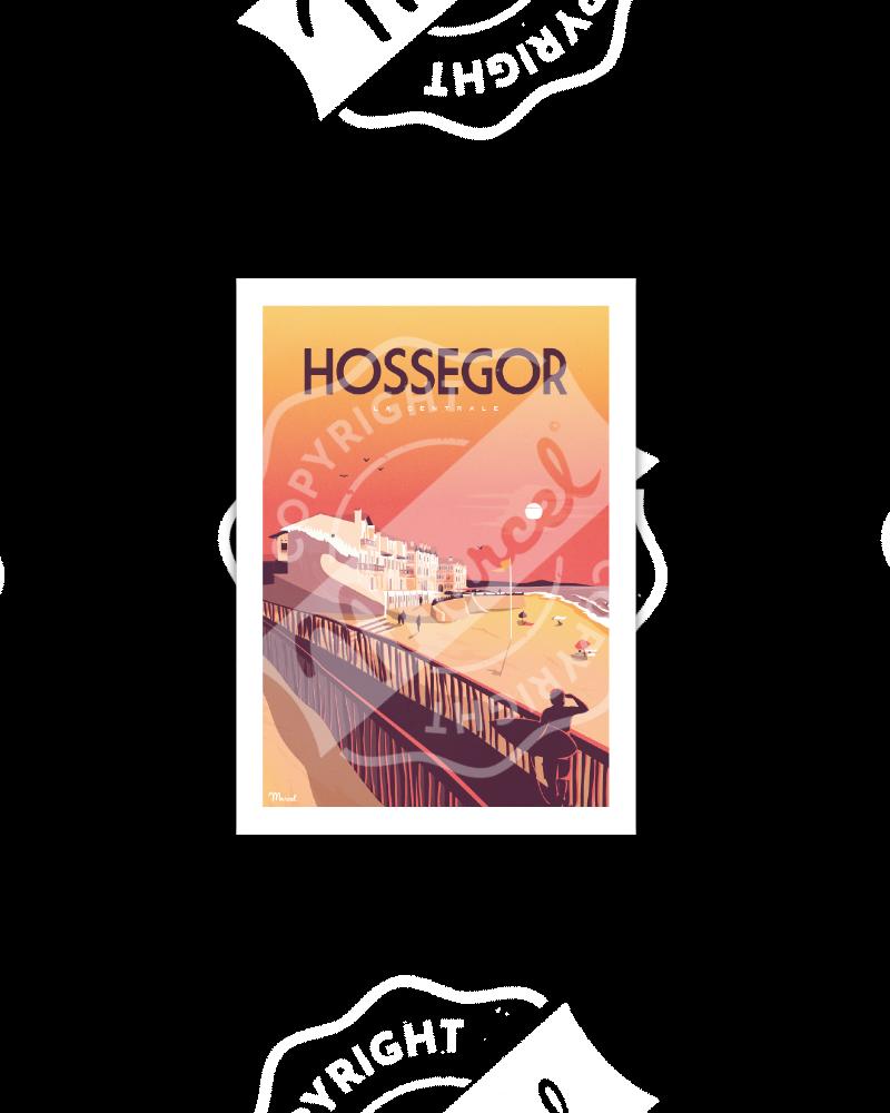 Postcard HOSSEGOR LA CENTRALE