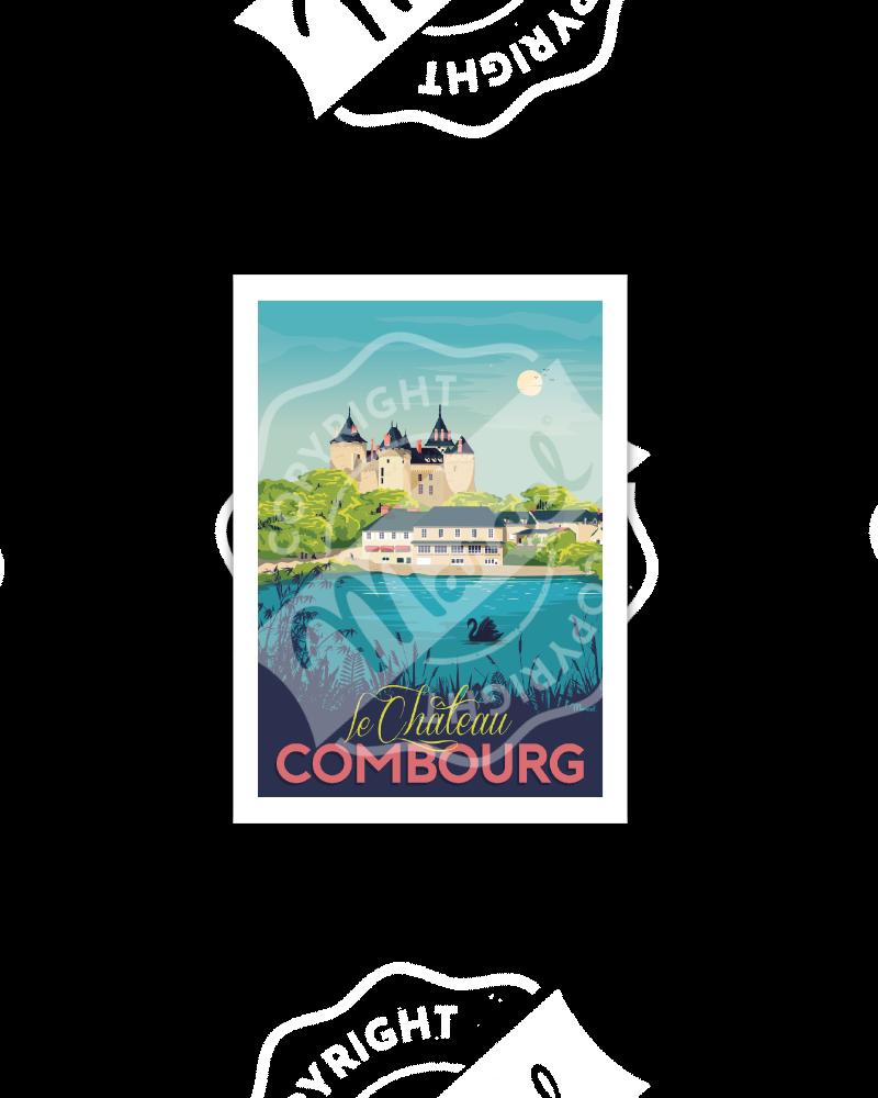 "Postcard ""Château de Combourg"""