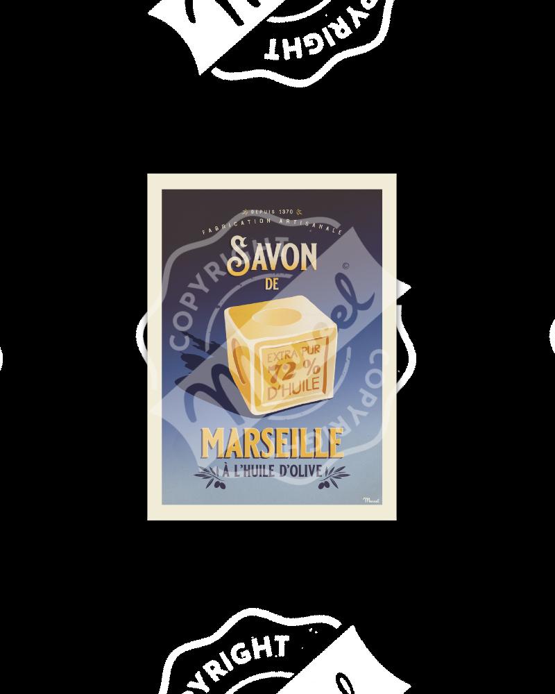 Postcard Marcel SAVON DE...