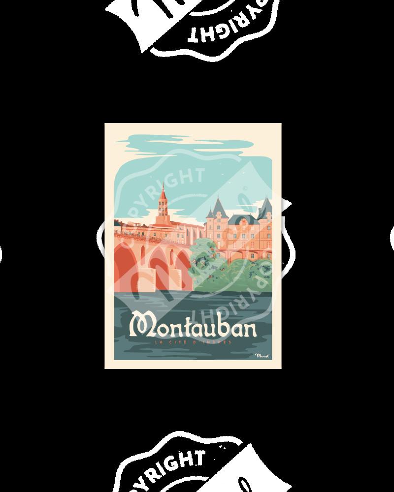 Cartes Postales Marcel MONTAUBAN