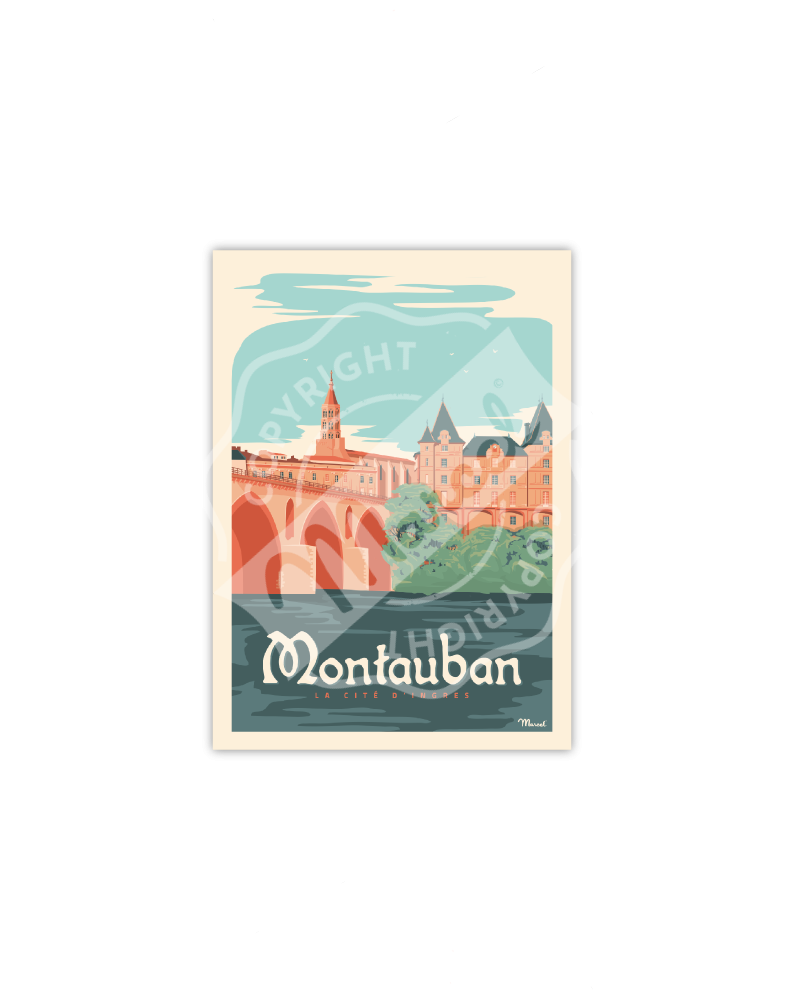 Postcard MONTAUBAN