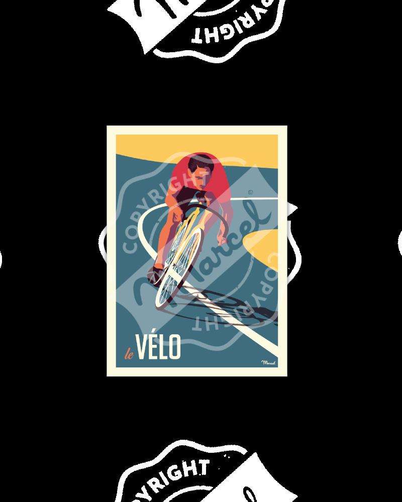 Postcard LE VELO