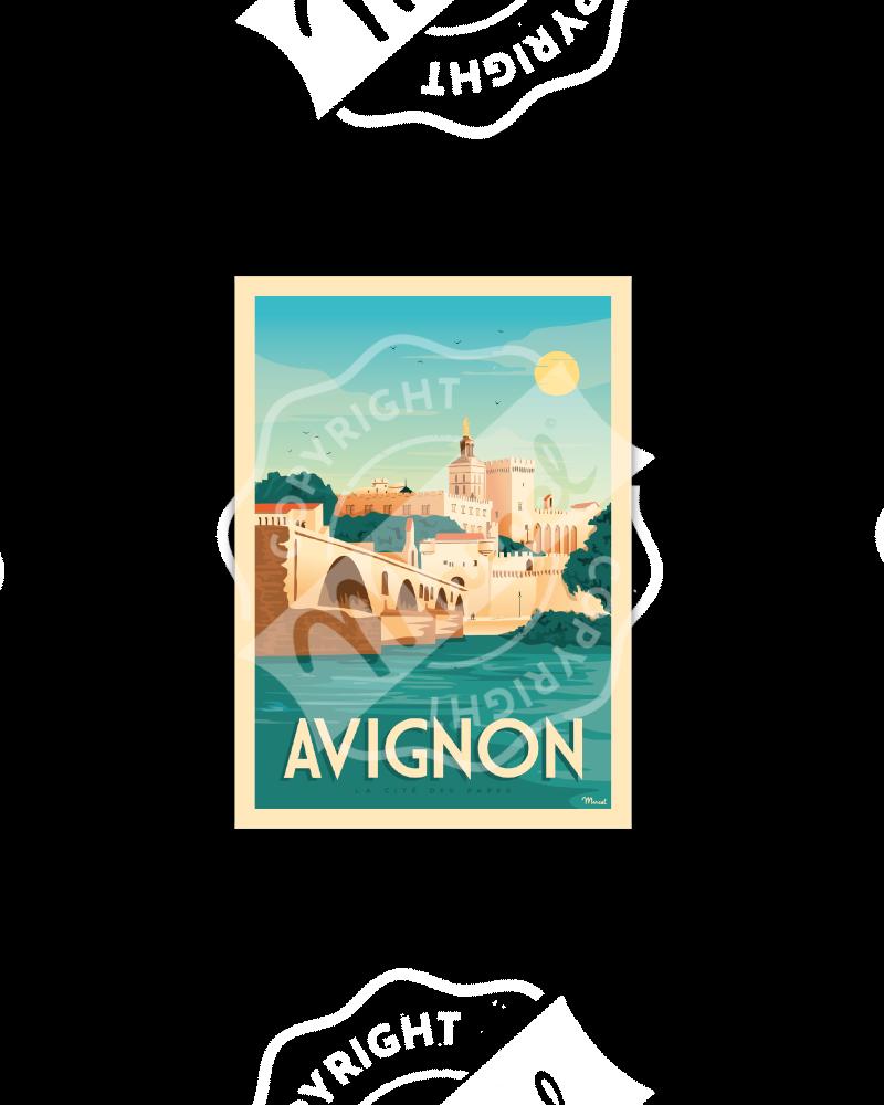 Postcard AVIGNON «La Cité...