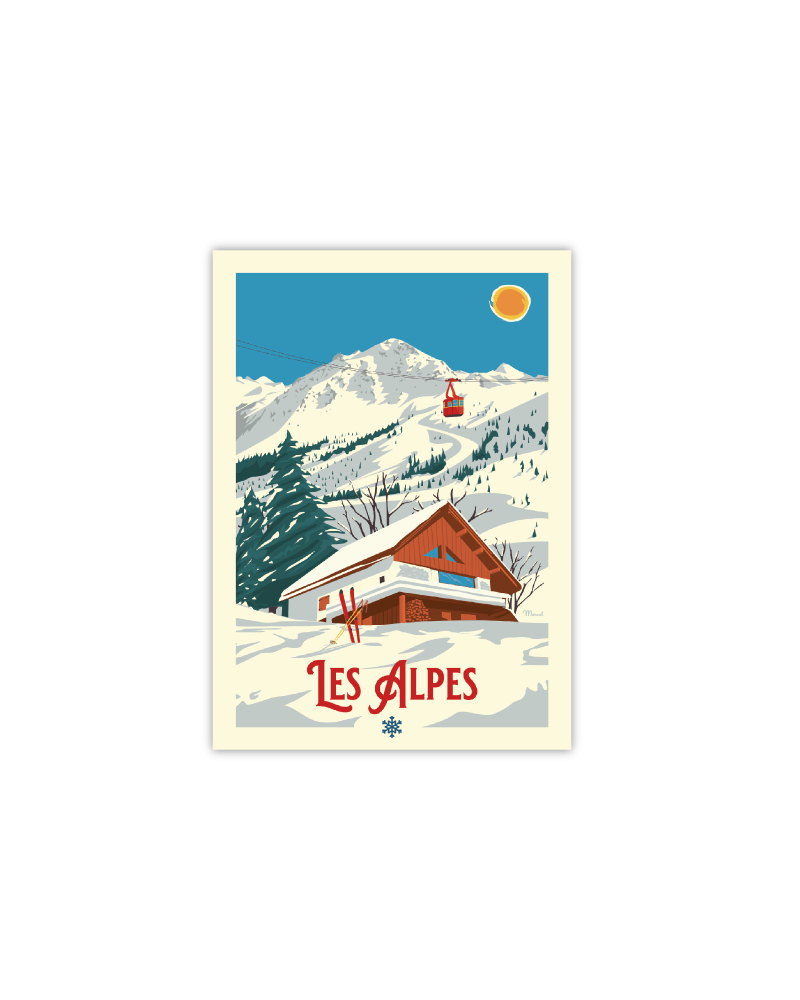 "Cartes Postales Marcel ALPES "" Le Chalet """