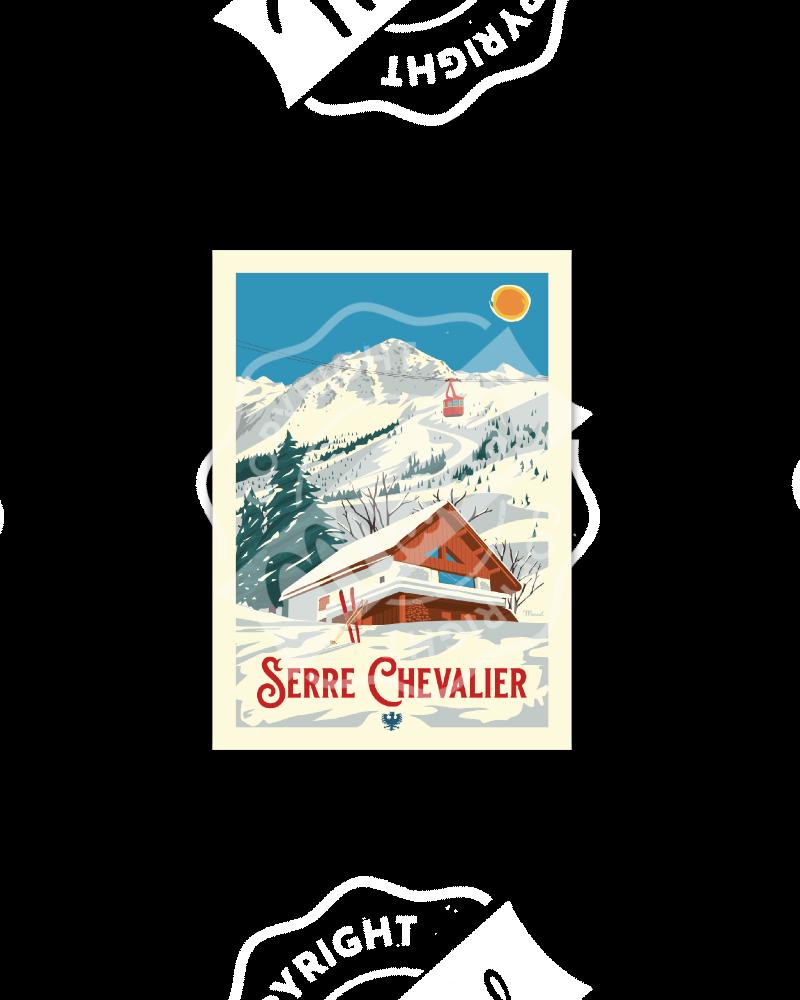 Postcard Marcel SERRE...