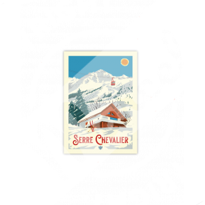 "Cartes Postales Marcel SERRE CHEVALIER "" Le Chalet """