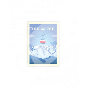 """Cartes Postales Marcel ALPES """" Le Téléphérique»"""