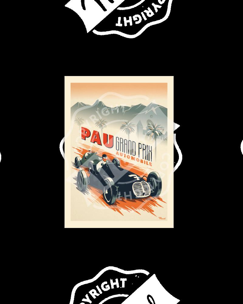 "Postcard  Marcel PAU ""..."