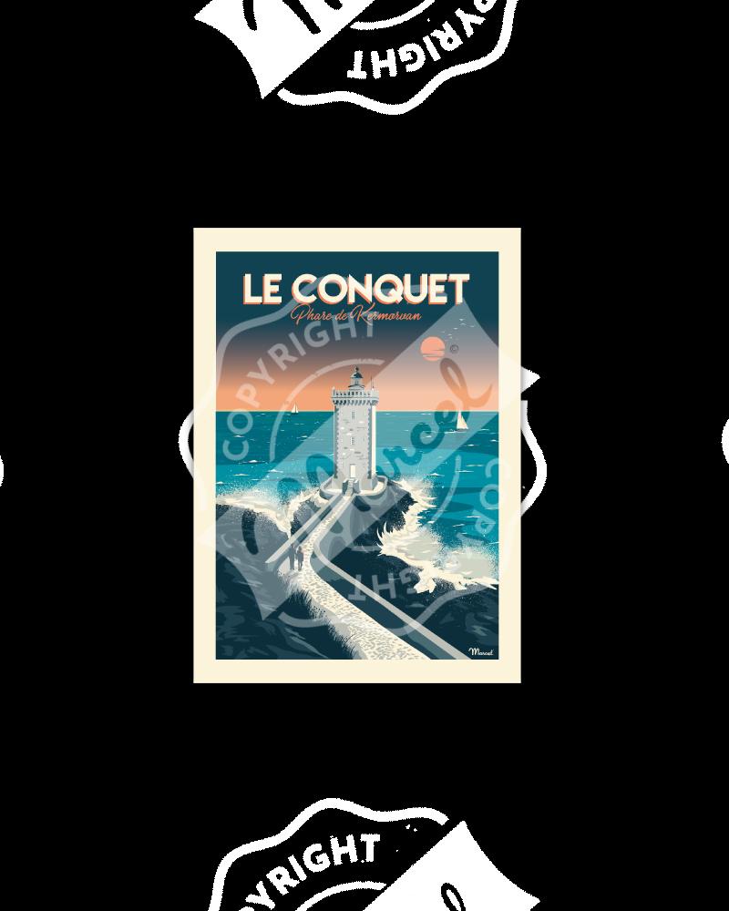 Postcard LE CONQUET ''Phare...