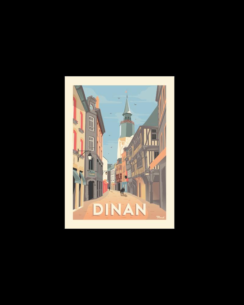 Postcard DINAN