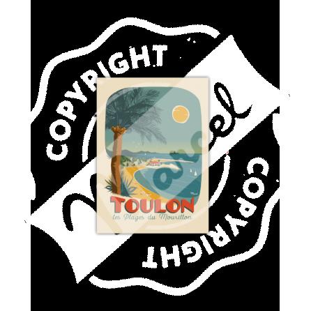 TOULON ''Plage du Mourillon''