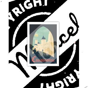 Carte Postale CARCASSONNE ''La Cité Médiévale''