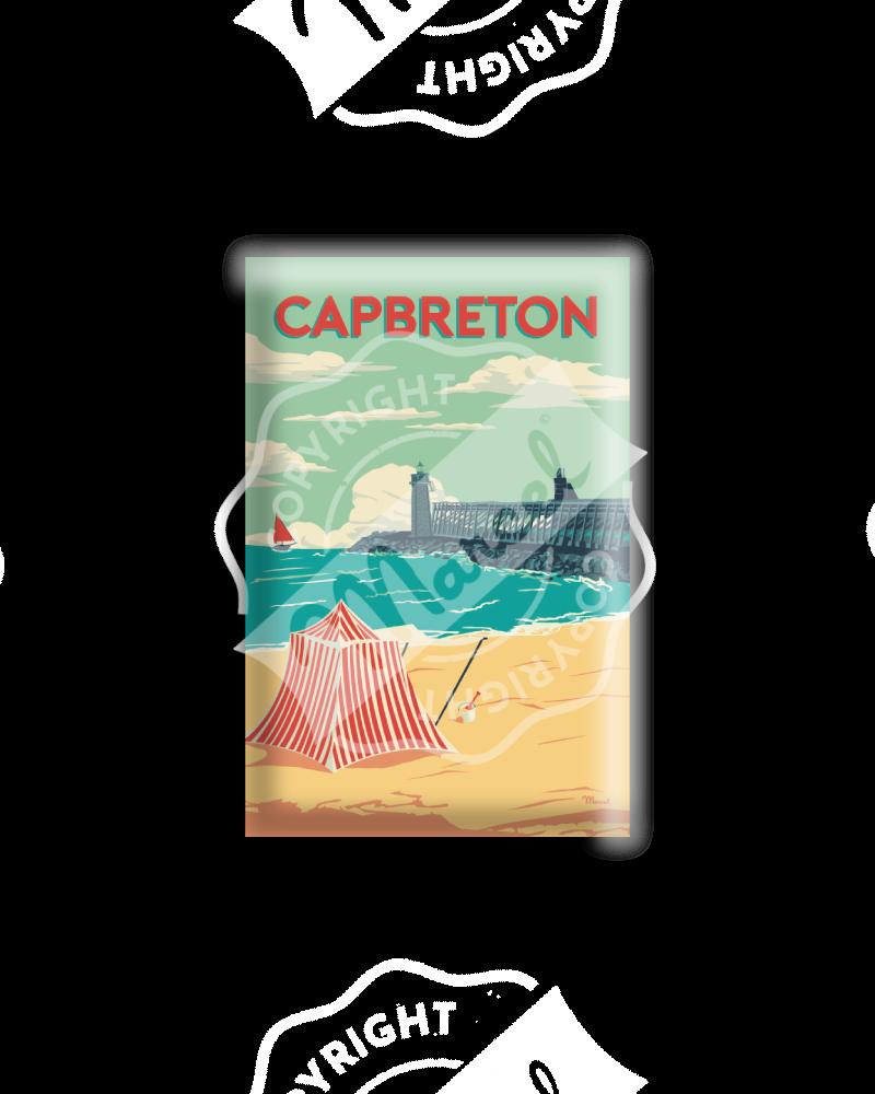"MAGNET CAPBRETON ""Estacade"""