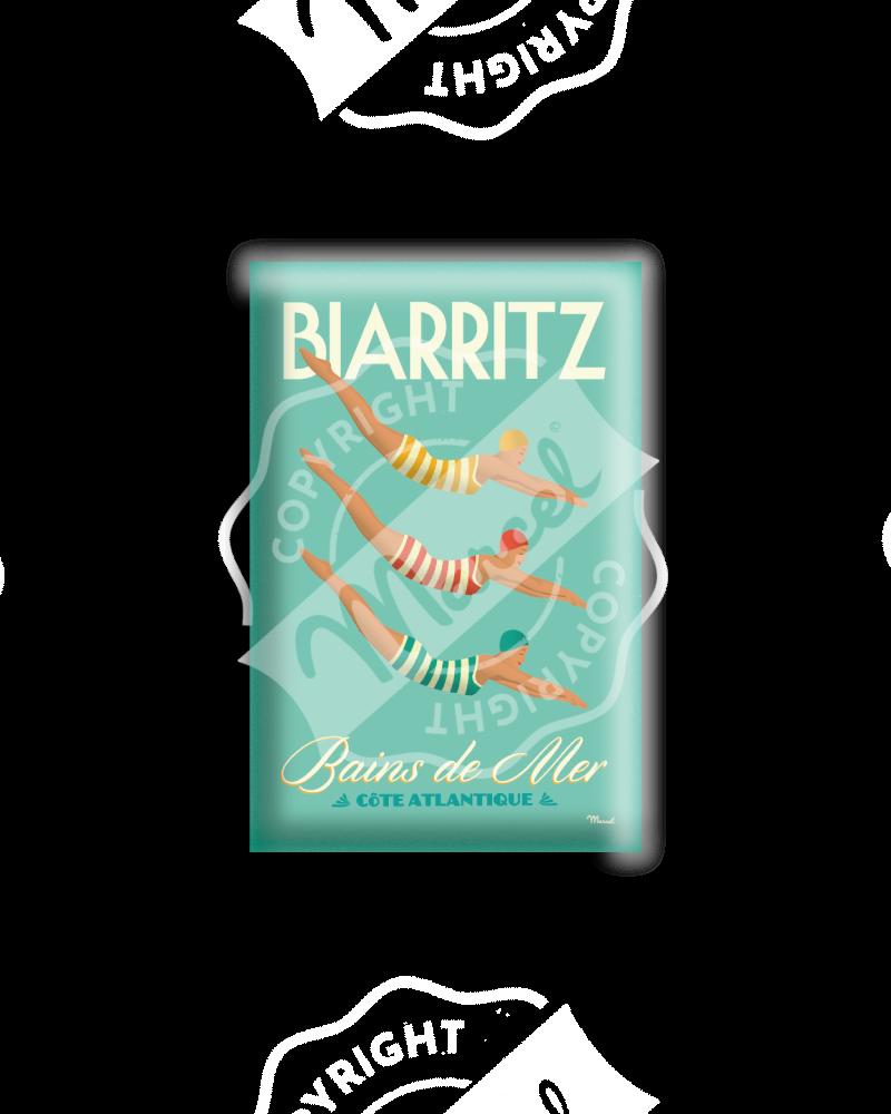 """MAGNET BIARRITZ """"Bains de Mer"""""""