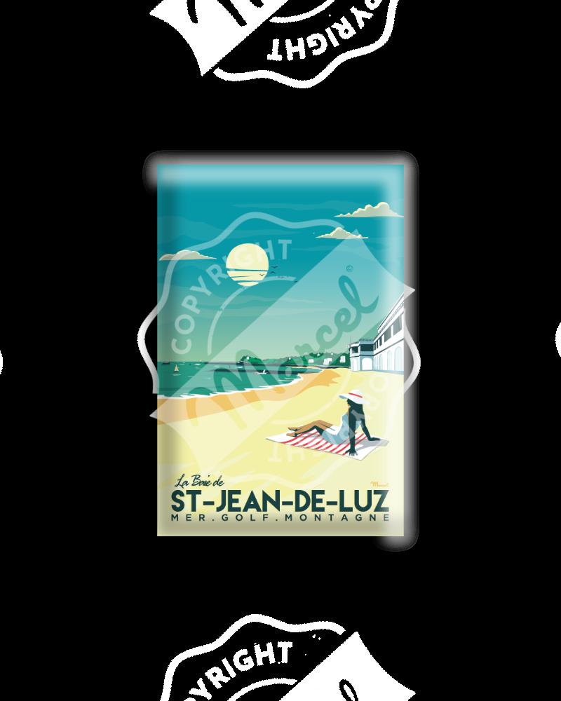 """MAGNET SAINT-JEAN-DE-LUZ """"La Baie"""""""