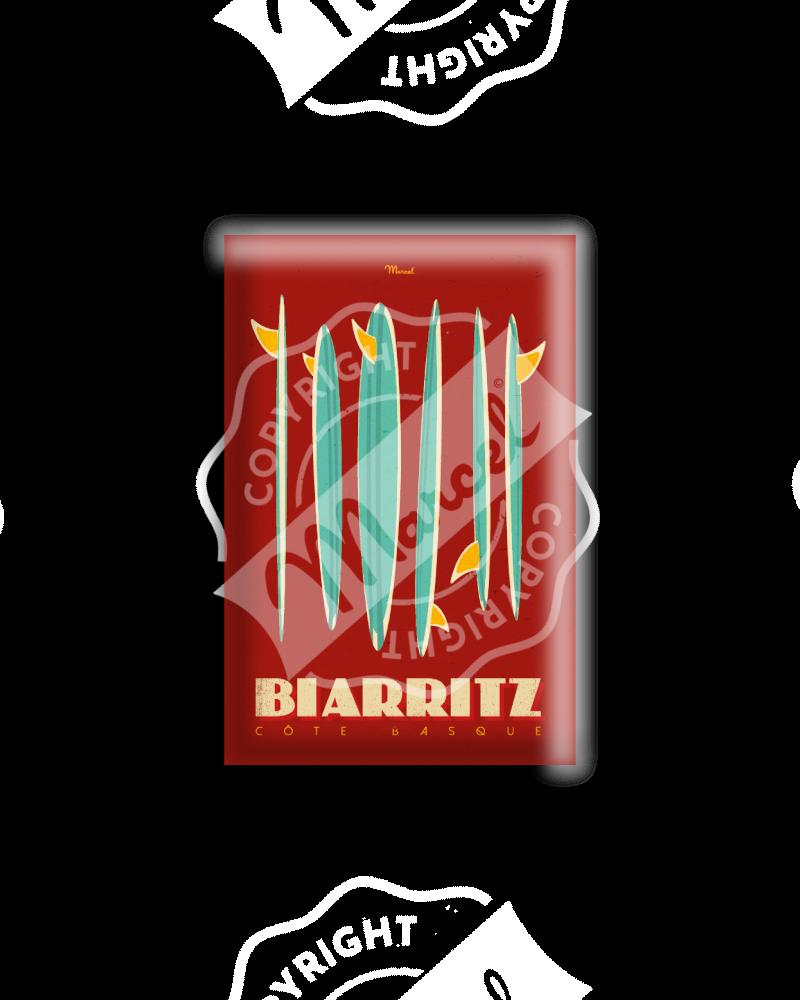 """MAGNET BIARRITZ """"Surfboards"""""""