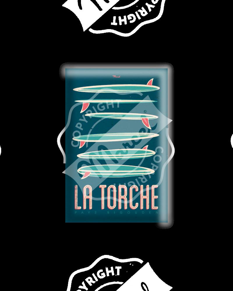 """MAGNET LA TORCHE """"Surfboards"""""""
