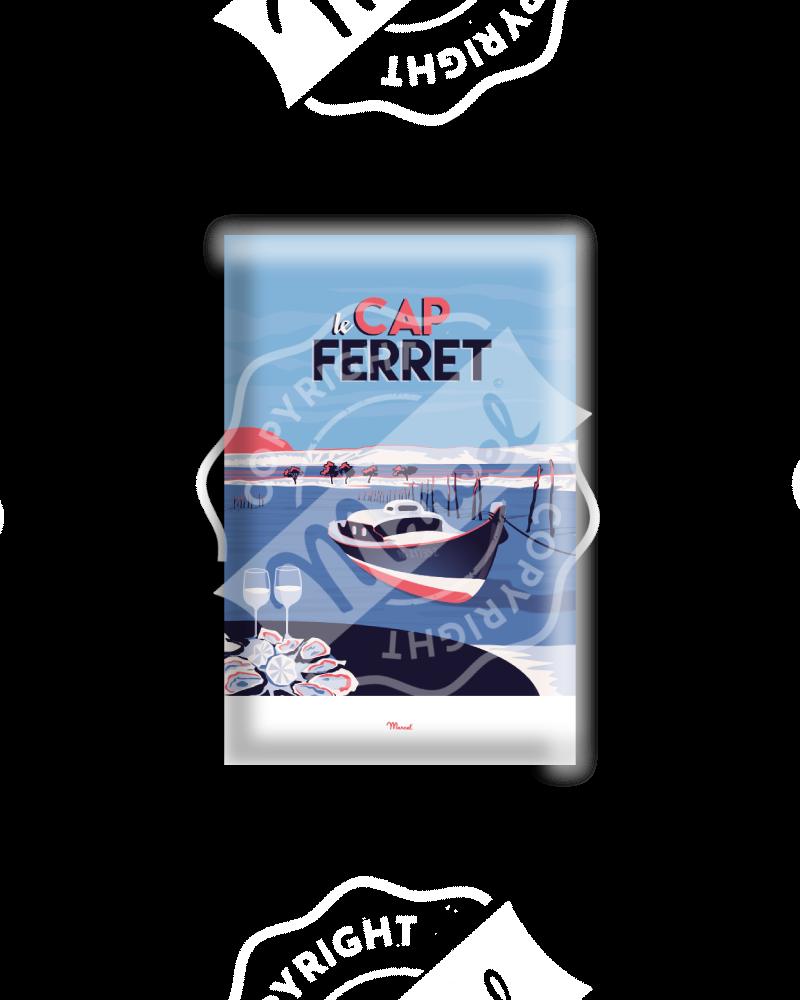 "MAGNET CAP FERRET ""Le Mimbeau"""