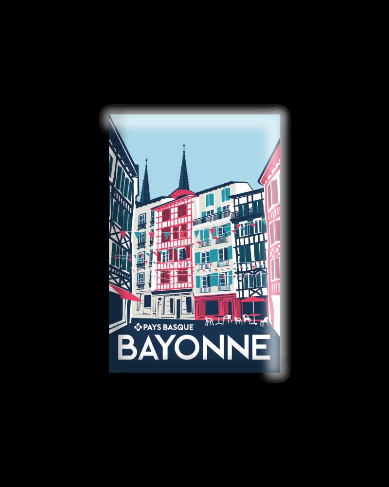 "MAGNET BAYONNE ""Rue..."