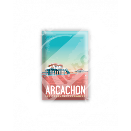 """MAGNET ARCACHON """"Les Cabanes"""""""