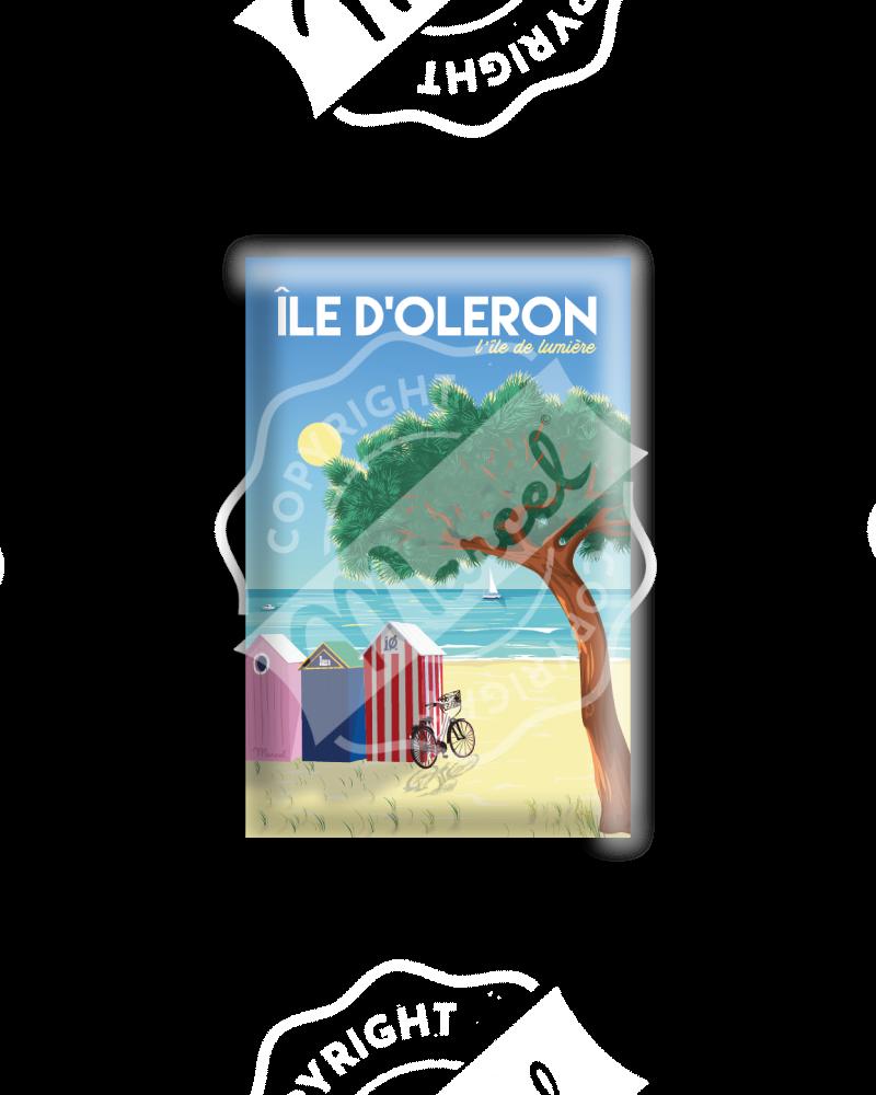 """MAGNET ILE D'OLERON """"L'île de Lumière"""""""