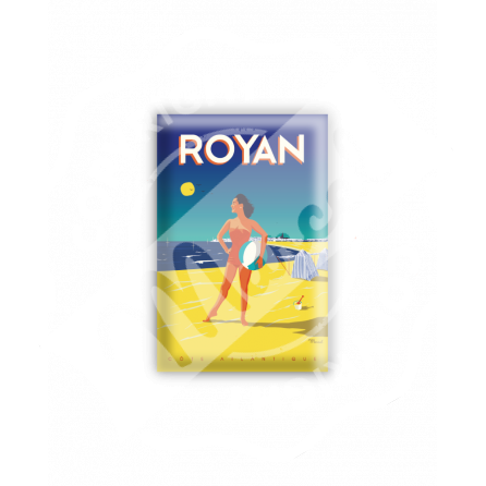 """MAGNET ROYAN """"Côte Atlantique"""""""