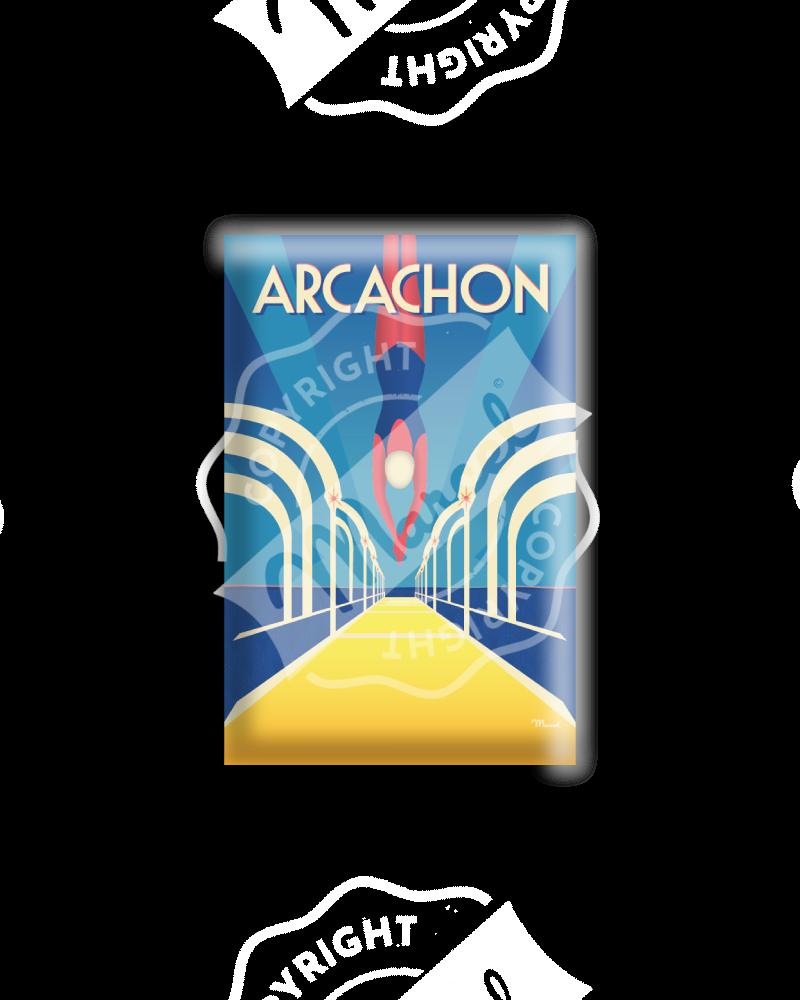 """MAGNET ARCACHON  """"Jetée..."""
