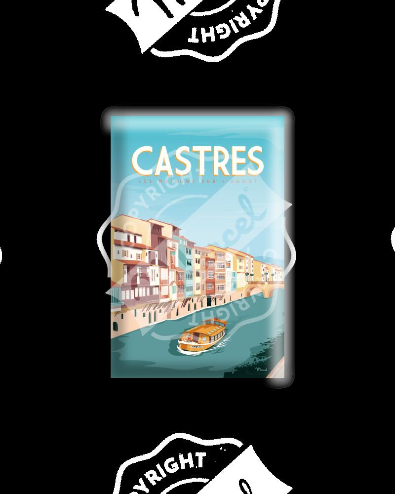 """MAGNET CASTRES """"Les Maisons sur l'Agoût"""""""