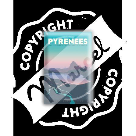 """MAGNET PYRENEES """" Lacs d'Ayous """""""