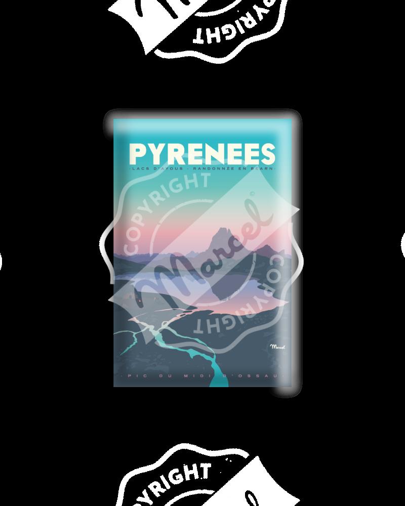 "MAGNET PYRENEES "" Lacs..."