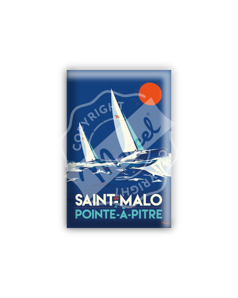MAGNET ST MALO / POINTE A...
