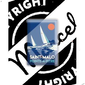MAGNET ST MALO / POINTE A PITRE