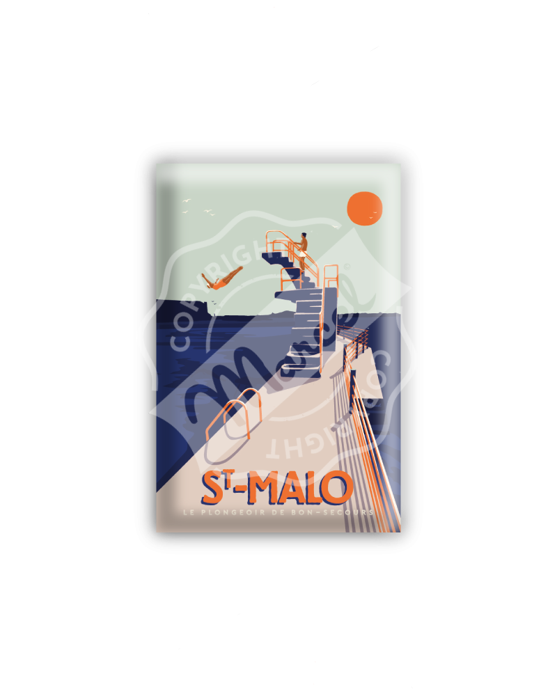MAGNET ST MALO «Le Plongeoir»