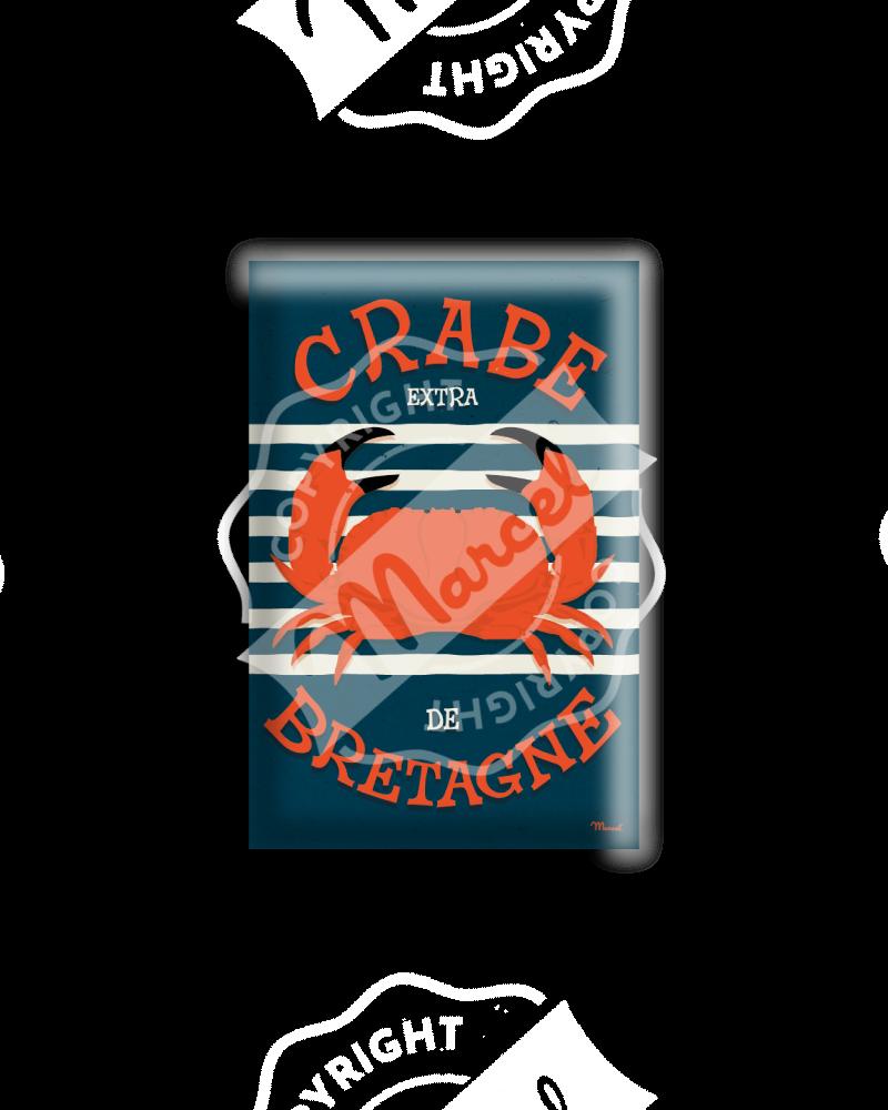 MAGNET CRABE DE BRETAGNE