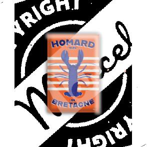 MAGNET HOMARD BLEU DE BRETAGNE