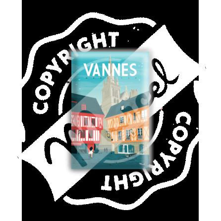 """MAGNET VANNES """"Place Henri IV"""""""