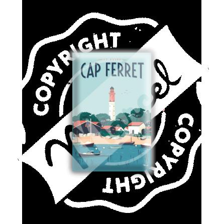 MAGNET CAP FERRET LE PHARE