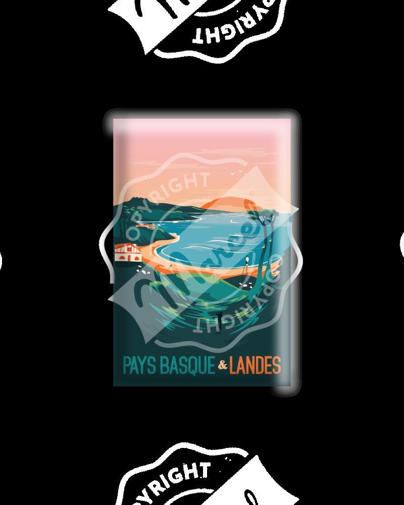 MAGNET PAYS BASQUE & LANDES