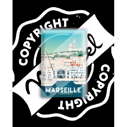 """MAGNET MARSEILLE """"Le Vieux Port"""""""