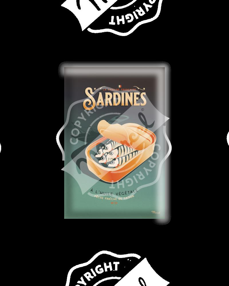 MAGNET LES SARDINES