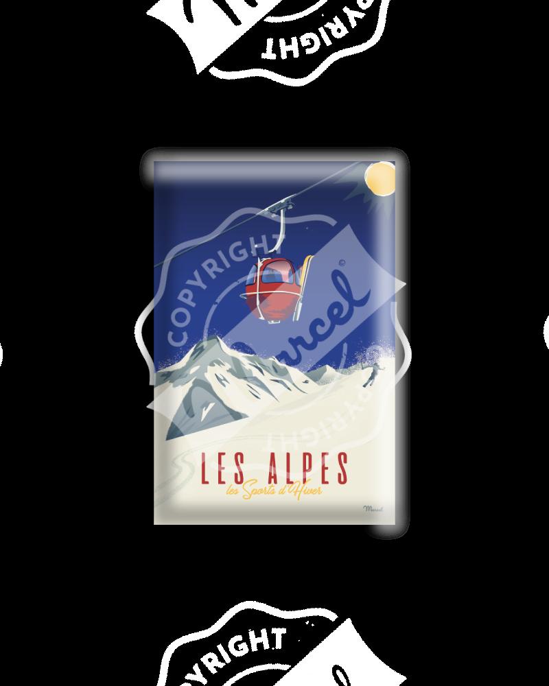 MAGNET LES ALPES - La Télécabine