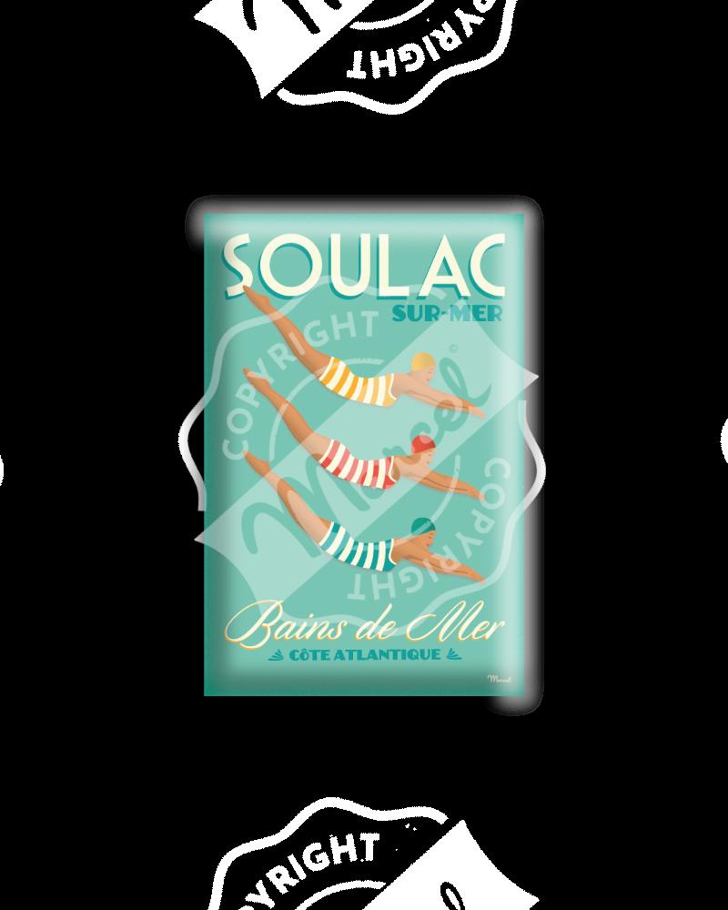 "MAGNET SOULAC ""Bains de Mer"""