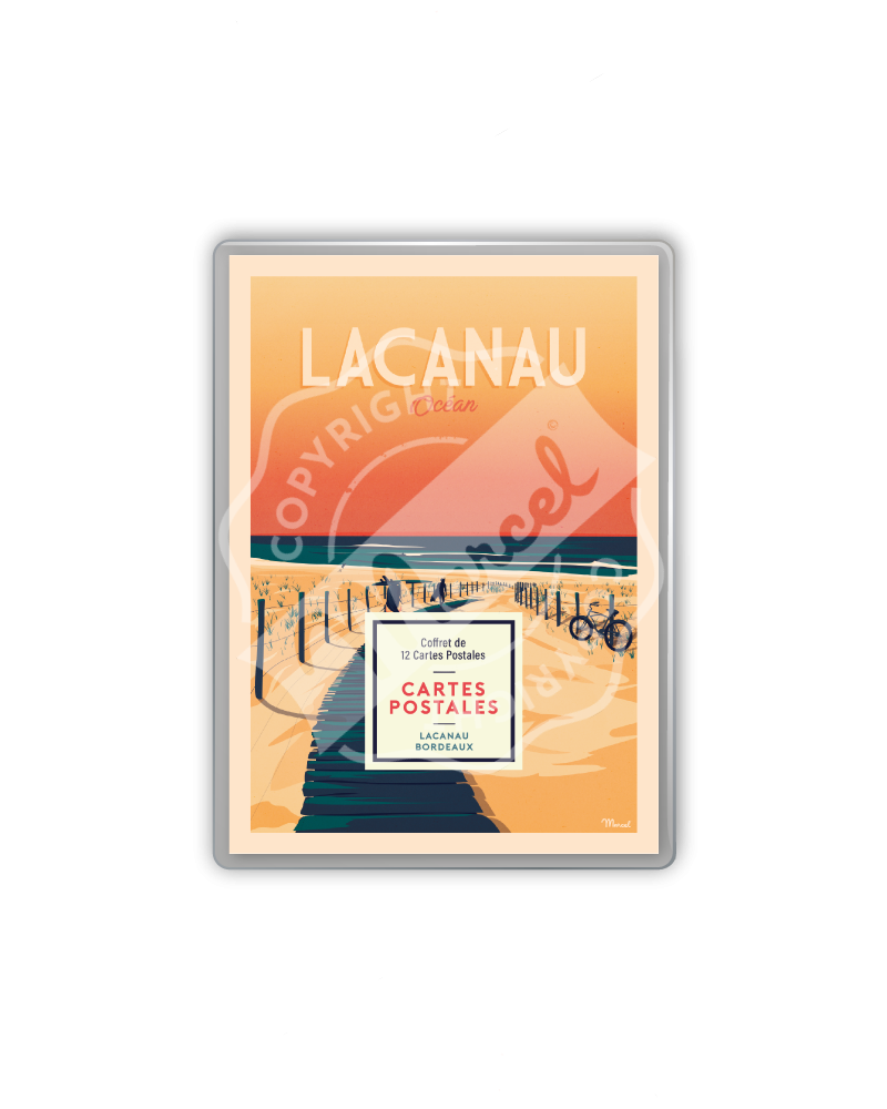 POSTCARDS BOX LACANAU /...