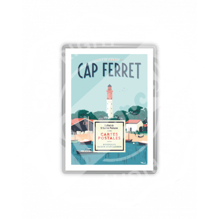 COFFRET CARTES POSTALES CAP-FERRET / BASSIN D'ARCACHON