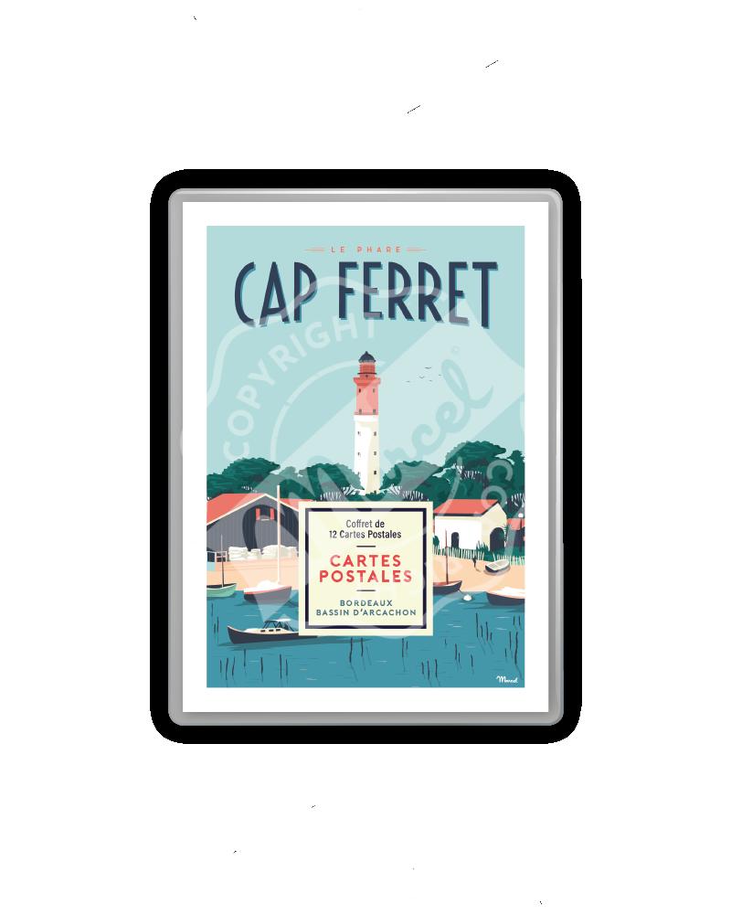 Postcards box - Cap Ferret...
