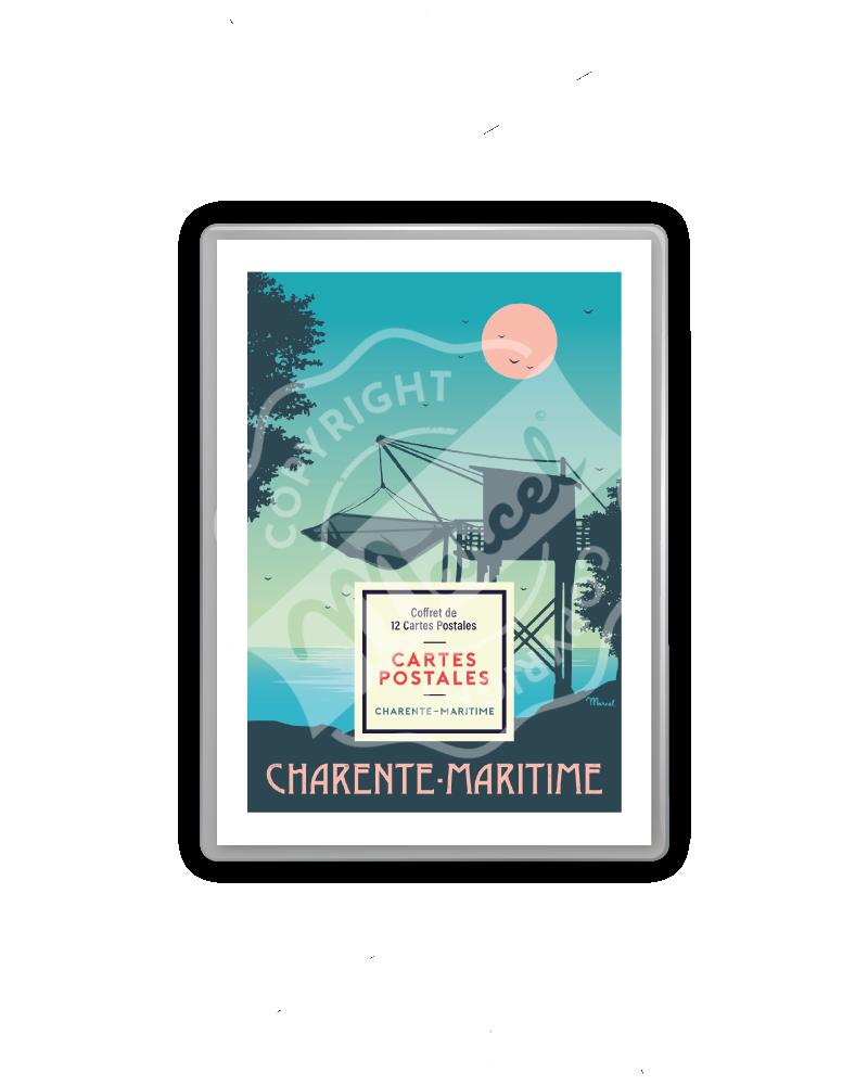 COFFRET CARTES CHARENTE-MARITIME