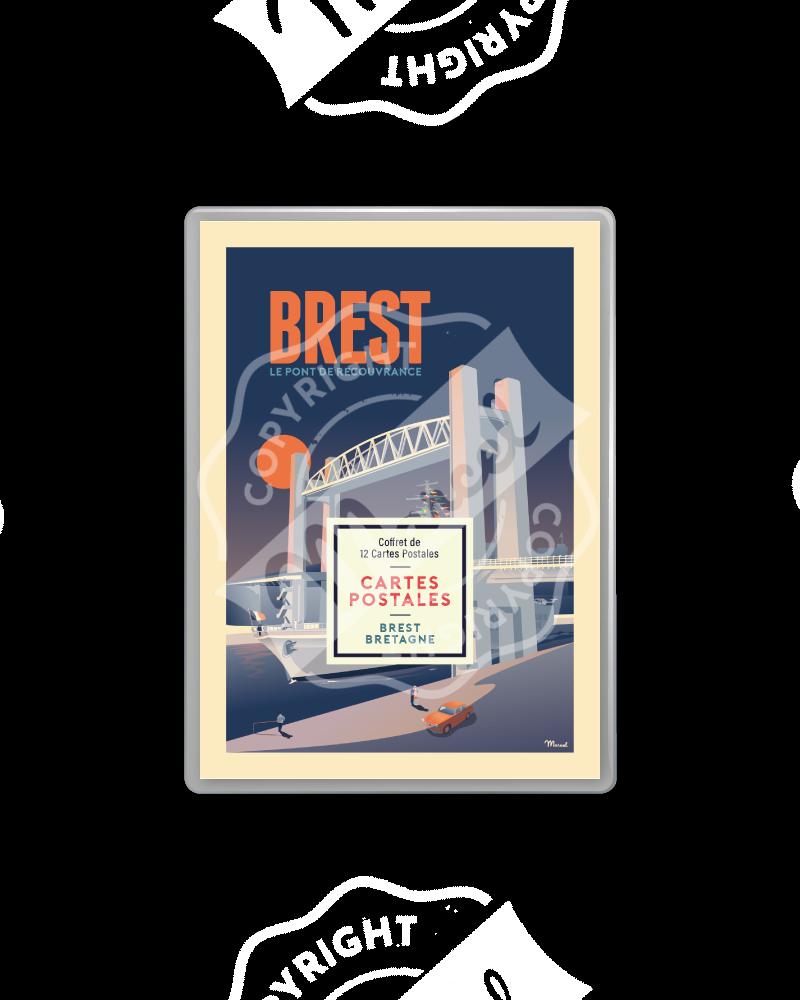 COFFRET CARTES BREST / BRETAGNE