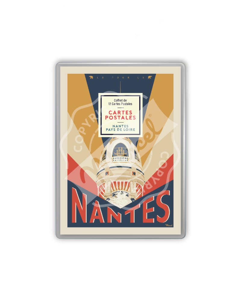 COFFRET CARTES POSTALES NANTES / PAYS DE LOIRE